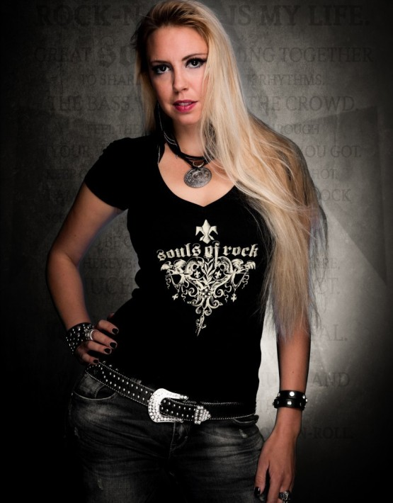 Frauen_T-Shirt_Lightness_Rock