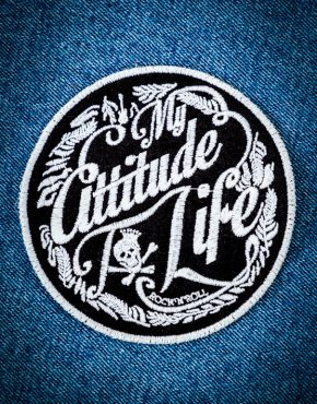 My Attitude To Life Patch