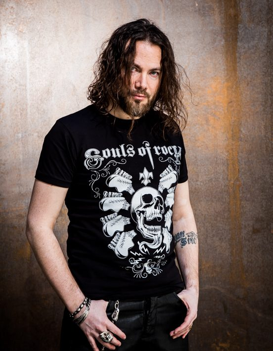 Maenner_T-Shirt_Guitar_Skull