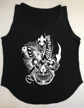 Frauen_Tank-Top_Proud_To_Be_Different